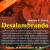 "documental ""Desalambrando"" en el Teatro Francisco Arriví"