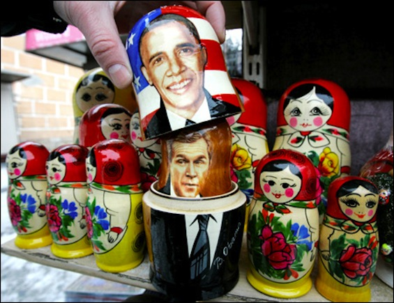 Obama-Bush Matryoshka