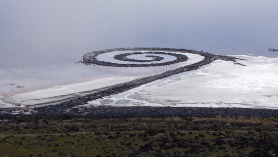 Spiral Jetty -Robert Smithson