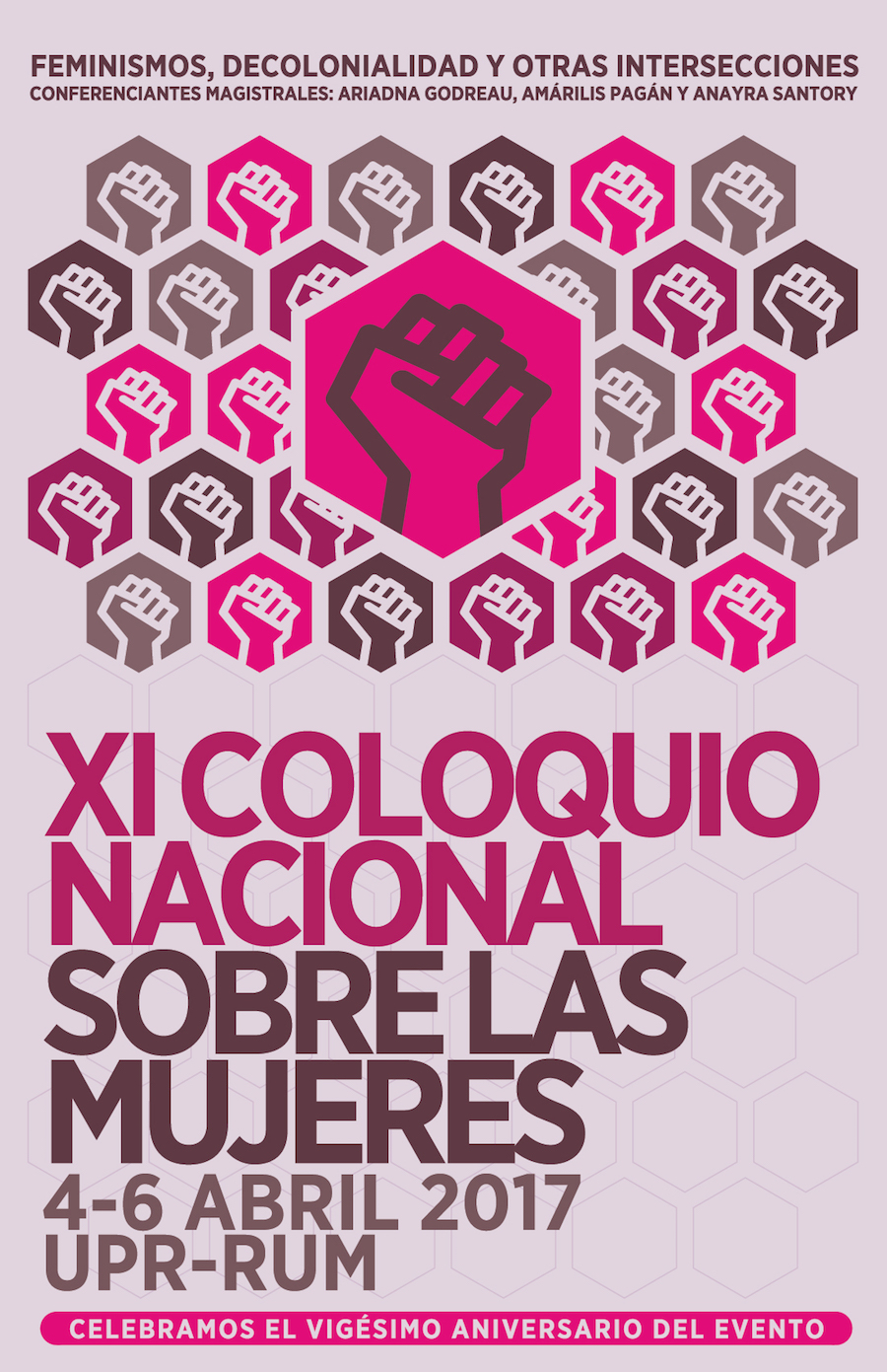 Poster coloquio mujeres Bea 2016